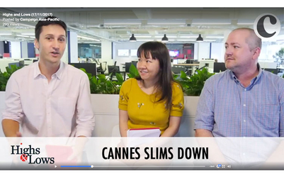 Highs & Lows: Cannes, ADK, WPP, Tencent, Ikea, Line