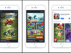 Facebook expands playable ads and transparency for brands