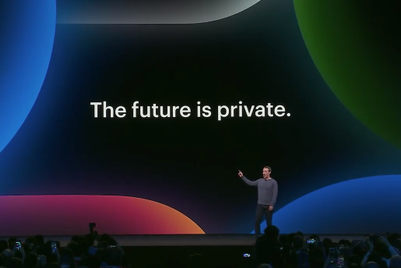 Facebook emphasises 'private' connections