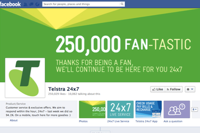 CASE STUDY: Telstra leverages Facebook to increase subscriber base