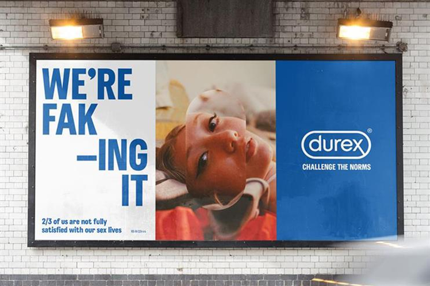 Durex: Believes sex should be satisfying for women too.