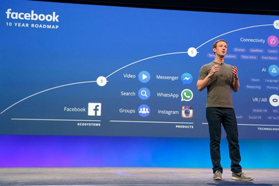 Facebook revenues up 33%, but Zuckerberg admits user 'saturation'