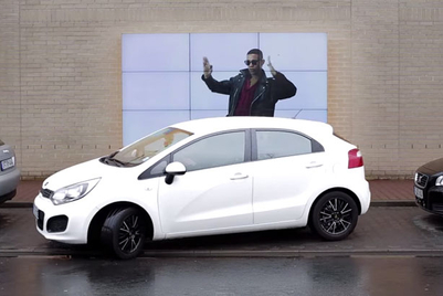 Fiat's interactive billboard gives real parking guidance
