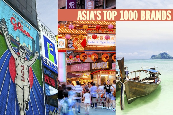 Asia's Top 1000 Brands: Final country rankings released