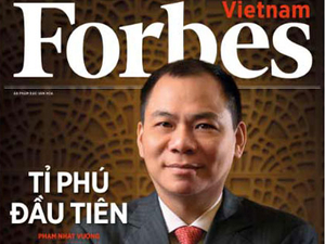 Forbes outlines ambitious plans for Vietnam