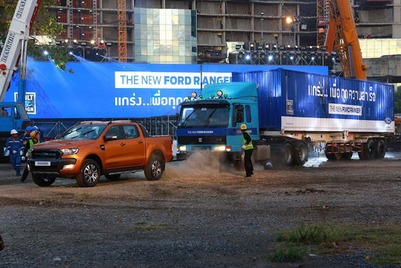 Case study: Ford stages action-packed Ranger demo in Thailand
