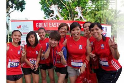 Great Eastern promotes a healthy lifestyle to engage consumers