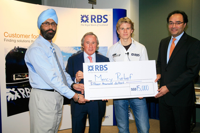 RBS combines Singapore Grand Prix with fundraising efforts