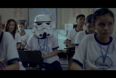 Globe's brave little stormtrooper may make you cry