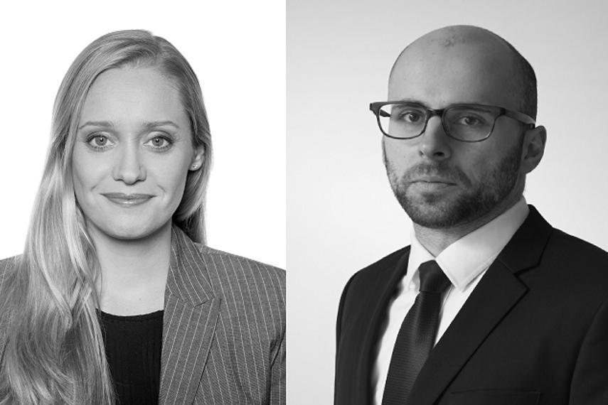 Tatjana Martens-Pearce(左),Philipp Dittes(右)
