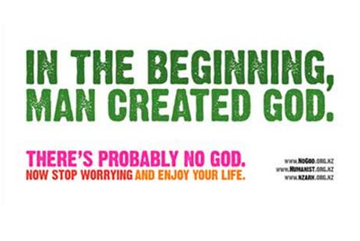 'There's probably no God' ad attracts single complaint in NZ