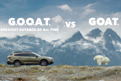 You've goat to watch these Subaru ads; they're not baaaaad
