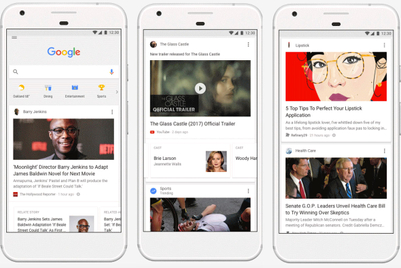 Google updates its feed to improve contextual messaging
