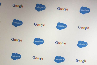 Salesforce partners with Google