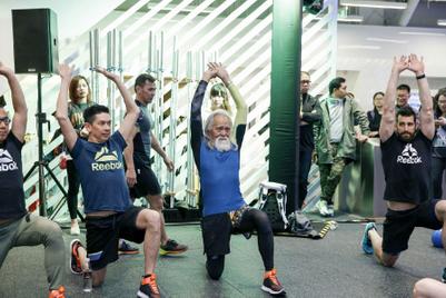 """""""中国最酷爷爷""""为何成为锐步挑战式健身理念的新面孔"""