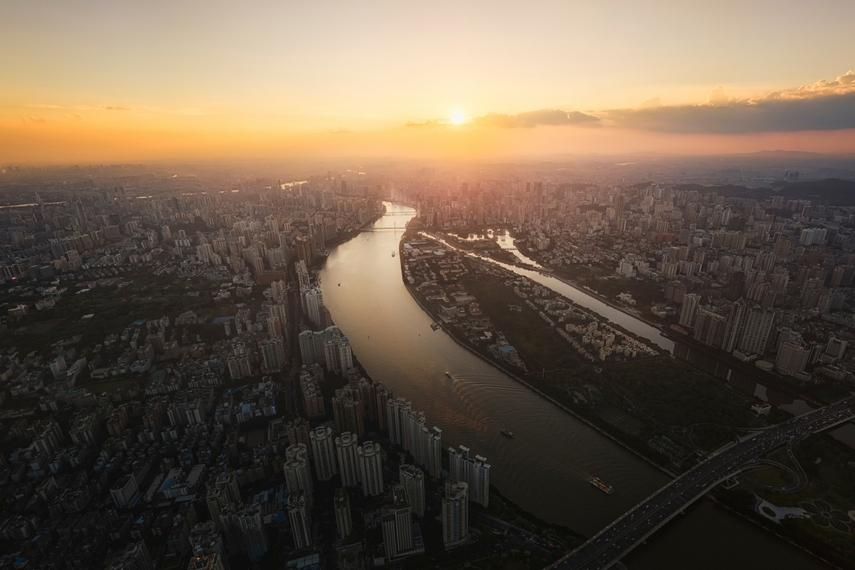 Aerial view of Guangzhou (Shutterstock)