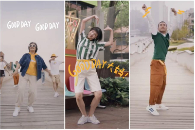 Adidas Neo invites China to a Gudetama-inspired Douyin dance challenge
