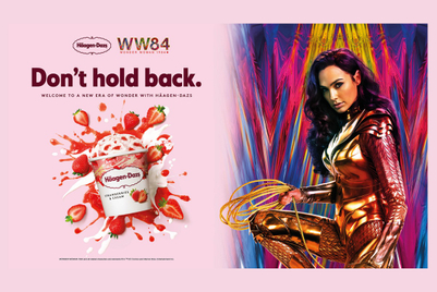 Wonder Woman and Haagen-Dazs, united in lazy marketing