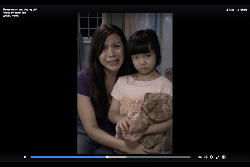 Provocative video post leads off human-trafficking campaign for Hagar Singapore by Blak Labs.