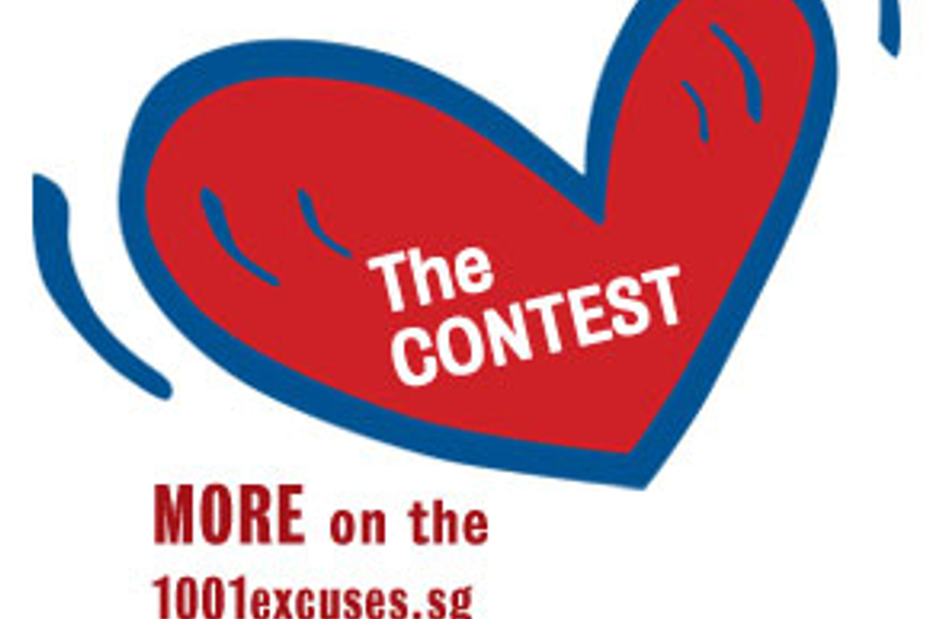Heart Contest asks Singaporeans to give 1000 excuses
