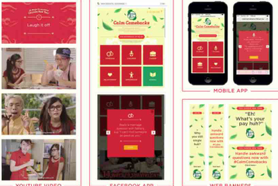 Tea brand helps fend off personal questions from family during CNY