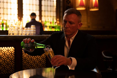 Daniel Craig likens Bond film delay to waiting for a cold Heineken in new ad