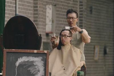 A velvet barber chair, a half-done haircut and a deranged Shanghai adventure