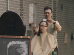 A velvet barber chair, a half-done haircut and a deranged Shanghai adventure