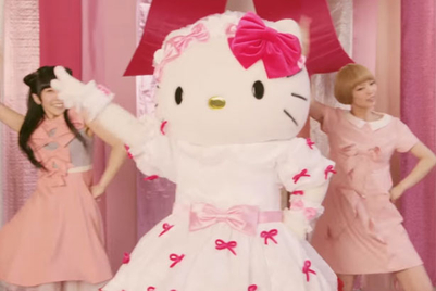 Hello Kitty joins Dempagumi for uneasy itch remedy promo