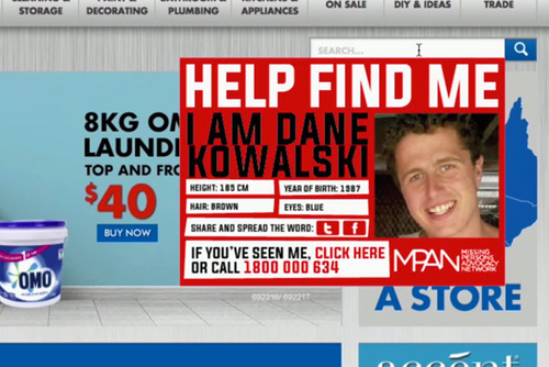 Effort turns search engines into reminders about missing people
