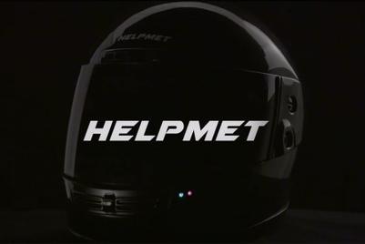 BBDO Bangkok promotes helmet that calls for help after a crash
