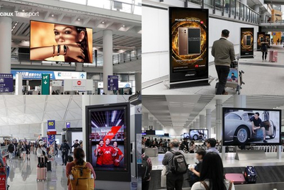 Programmatic DOOH advertising lands at Hong Kong airport