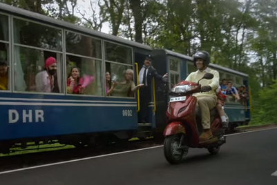 Indian musical number for Honda scooter impossible to dislike