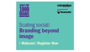 Scaling social: Branding beyond image