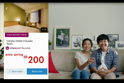 Hotels.com spots are worth a chuckle, and that's enough