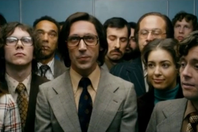 HSBC spot depicts decades through snippets in lifts