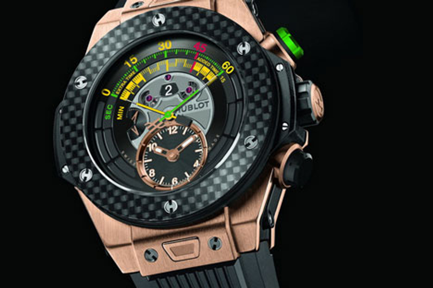 Hublot makes FIFA-themed watch, sponsors Guangzhou Evergrande