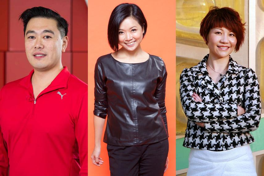 L-R: Adrian Toy, Lilian Leong, Ivy Wong