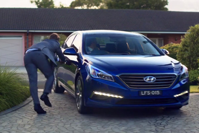 This Hyundai Sonata will be gone in 60 seconds