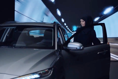 Hyundai puts women in driver's seat after Saudi Arabia's ban lift