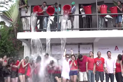 Ice-Bucket Challenge hits Asia's media industry