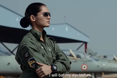 Indian Air Force straps into gender-equality cause