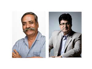 Piyush Pandey and Prasoon Joshi take to the Spikes Asia stage