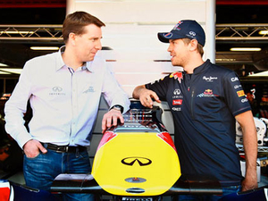 Infiniti signs Sebastian Vettel as first global ambassador