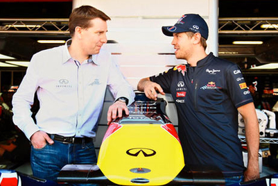 Infiniti signs Sebastian Vettel as first global ambassador