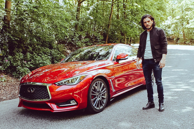 Kit recites 'Tyger' in global ad for Infiniti's Q60