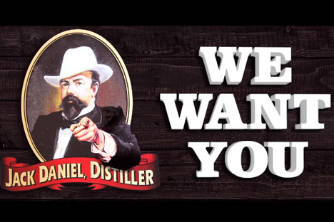 Jack Daniel's asks fans to pay tribute by building a bar