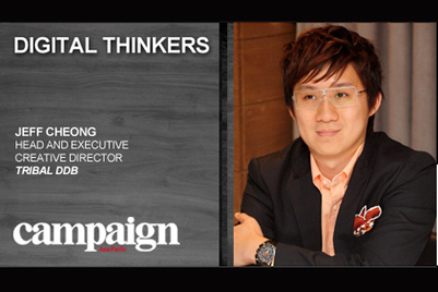 Digital Thinkers: Jeff Cheong, Tribal DDB Singapore
