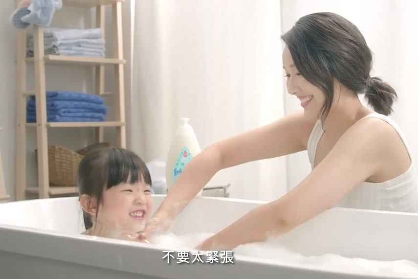 A TVC addresses the pressure even kindergartners can face in the 'Choose gentle' campaign for Johnson's by Tribal Worldwide.