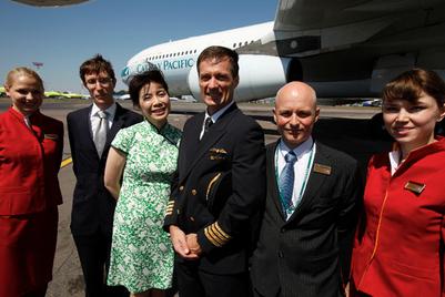 国泰航空迎来新的市场部总经理